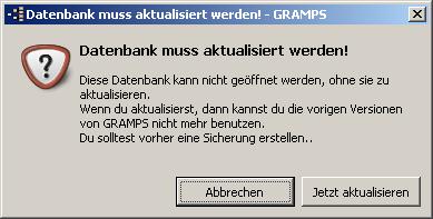 Gramps_Warnung